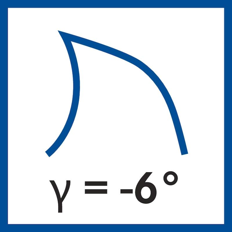 ATORN VHM tóruszmaró, standard, Ø 20,0 x 38 x 100 mm, r1,0, T=4, RT65 - Tömör keményfém tóruszmaró