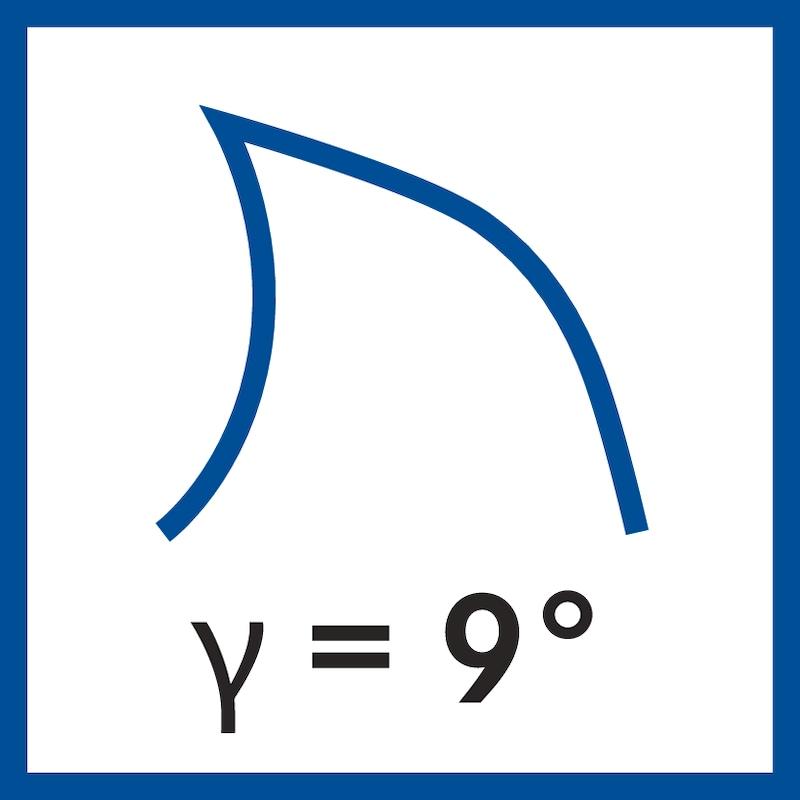 ORION VHM-Schaftfräser Zähne=2 TiAlN Durchmesser 2,5x7x57mm 30 Grad HA-Schaft - VHM Schaftfräser