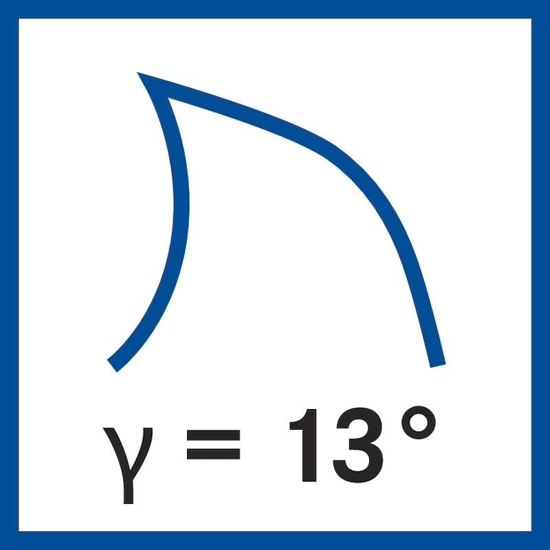 Fraise à rainurer au carbure ATORN T=2 0,90 mm queue DIN 6535 HA - Fraises deux tailles en carbure monobloc