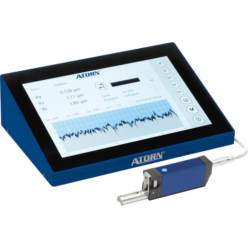 """10.1"""" 全高清工业触摸屏 PC 底座和参考面测头系统 - ATORN 粗糙度测量仪 easyROUGHNESS"""