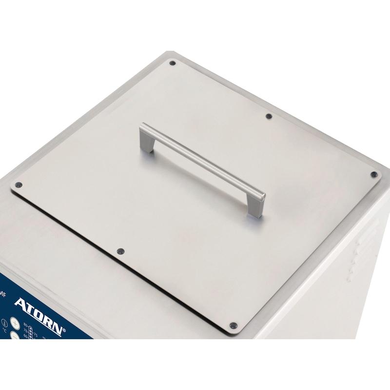 ATORN 标准不锈钢下推盖,用于 Pro MF 600H/800H - 标准下推式不锈钢盖