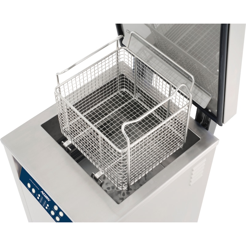 ATORN 不锈钢清洗篮,用于超声波清洗装置 Pro MF 600H - 不锈钢清洗篮