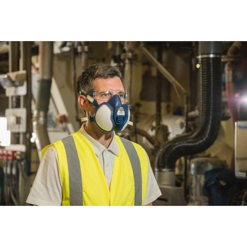 Protective respirator equipment semi-screen - 3