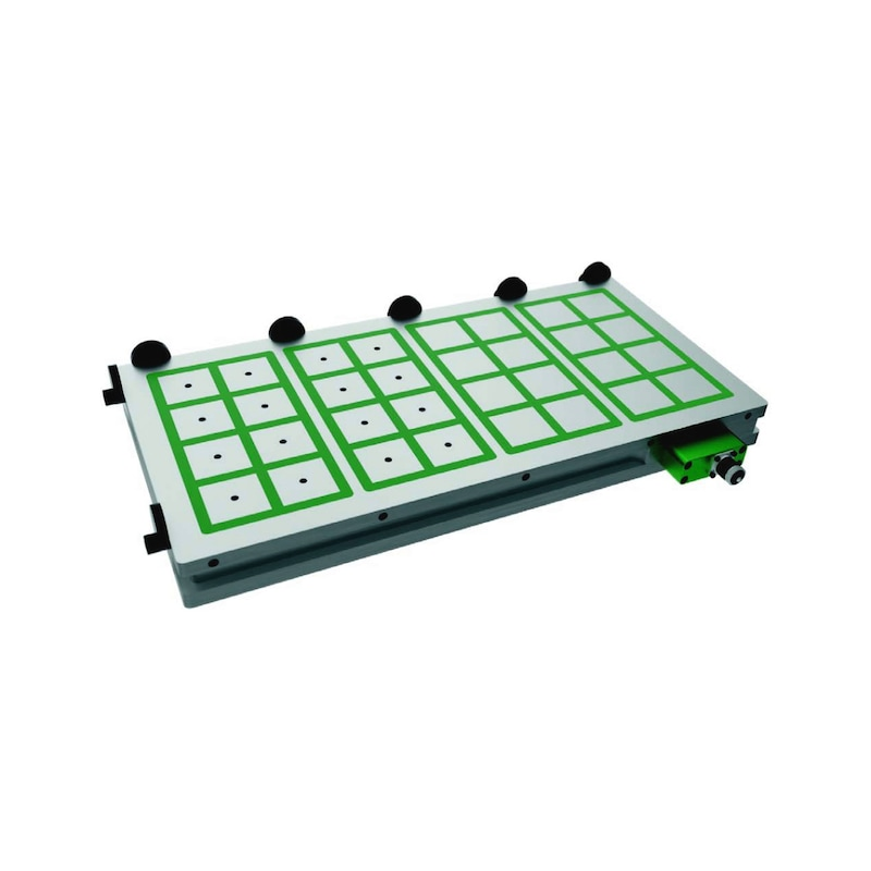 MM50480800 WALMAG, Elektro-Permanent Magnetspannplatte Mastermill 480x800 70 Pole - Magnetspannsplatte