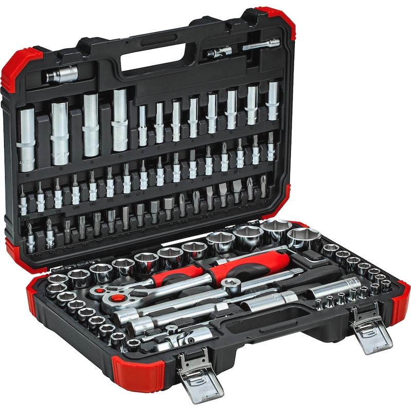 "GEDORE RED dopsleutelset van 94 stuks, 1/4"",1/2"" - GEDORE RED dopsleutelset, 94 stuks"