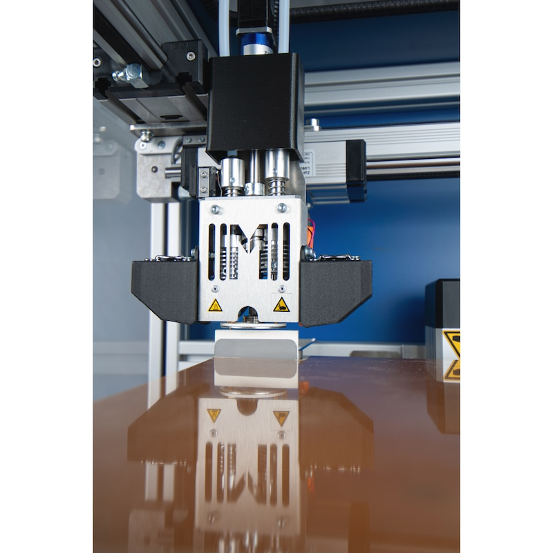 MULTEC Multirap M10 desktop 3D printer, print chamber 280x240x240 mm - Multirap M10 3D printer