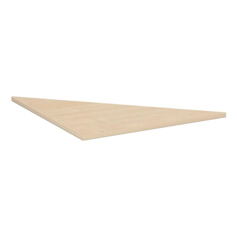 Verkettungsplatte C Fuß Flex 800x800 Dreieck Ahorn - Verkettungsplatte C Fuß Flex