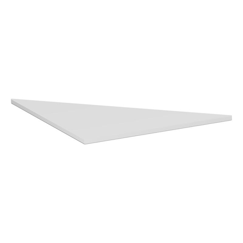 Verkettungsplatte C Fuß Flex 800x800 Dreieck Lichtgrau - Verkettungsplatte C Fuß Flex