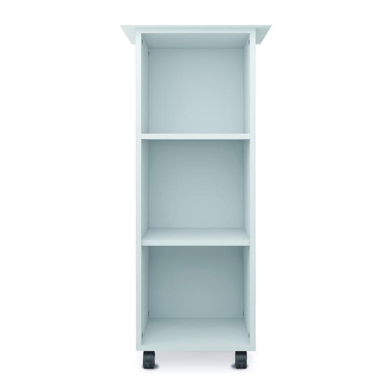 Büro-Caddy inkl. 4 Rollen 500x450 Weiß - Büro-Caddy