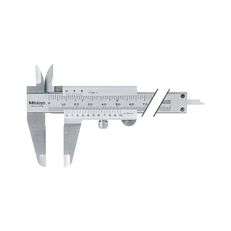 Pieds à coulisse MITUTOYO 0-300 mm 0,05 mm métrique - Pieds à coulisse de poche