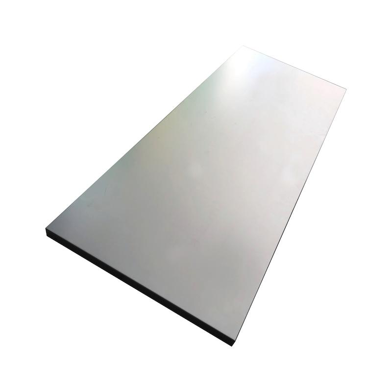 Etagère, zinguée galvanisée pour armoire à porte à rabattement n°50045 - Etagère