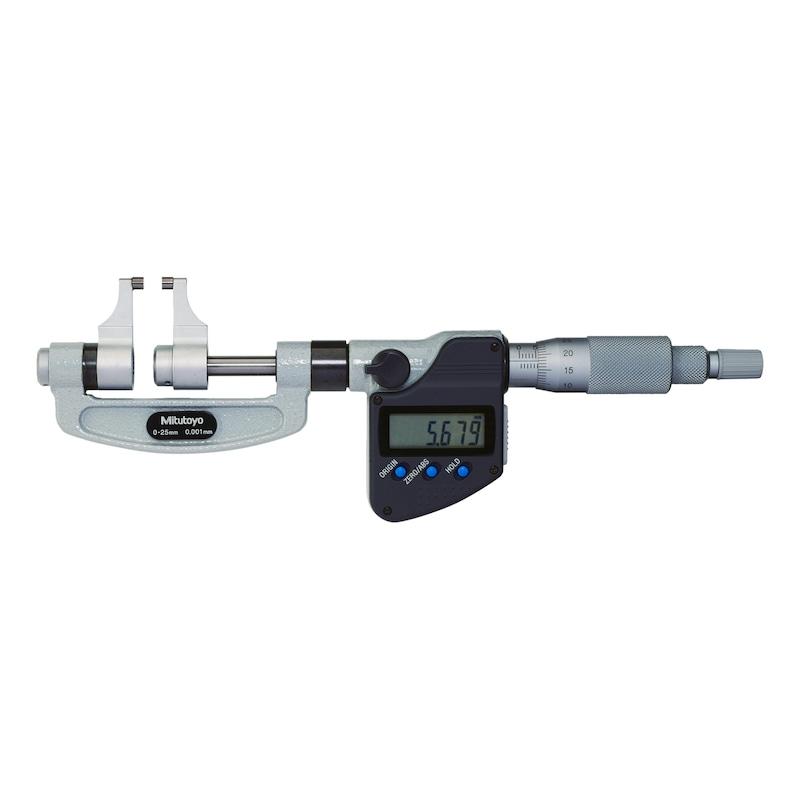 343-251-30 MITUTOYO, Digitale Messschnabel-Bügelmessschraube 25-50 mm Digimatic - DIGIMATIC Bügelmessschrauben