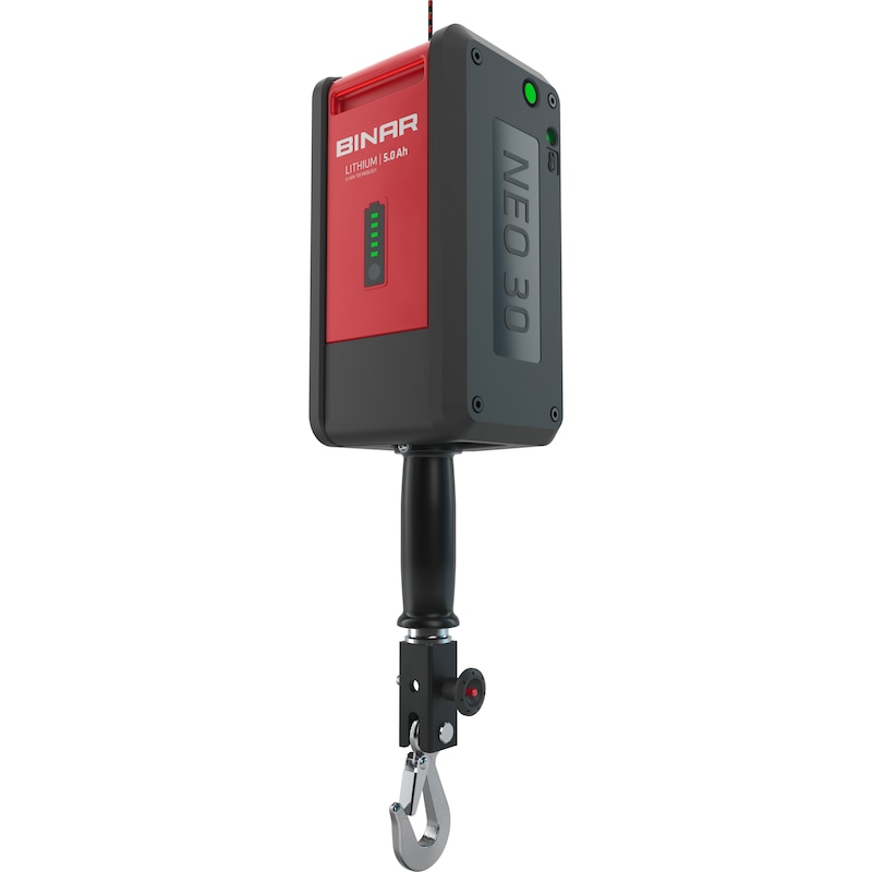 Seilbalancer Binar NEO30 Akkugerät mit Hublast bis 30 kg - Seilbalancer BINAR NEO30