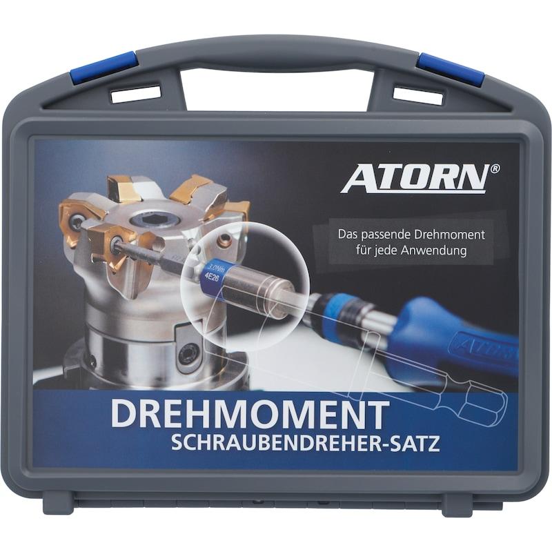 ATORN Drehmoment-Begrenzer-Set 30-teilig- 0,6 bis 5,5 Nm - Drehmoment-Begrenzer-Satz 0,6 - 5,5 Nm, 30-teilig  AKTION