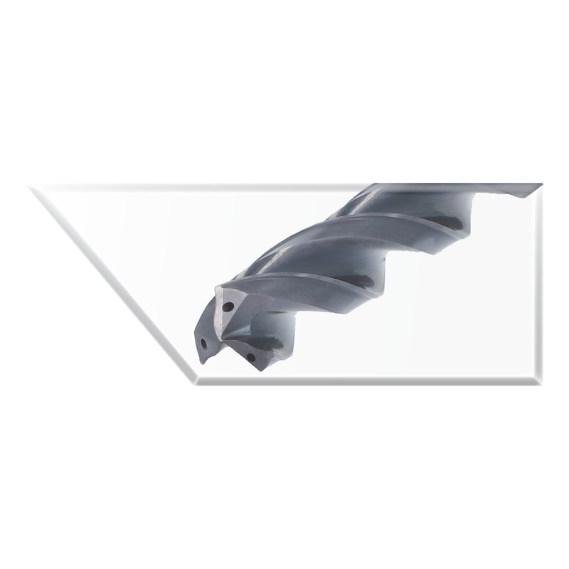Hochvorschubbohrer VHM-TiAlNplus HPC 5xD mit IK HA - 3