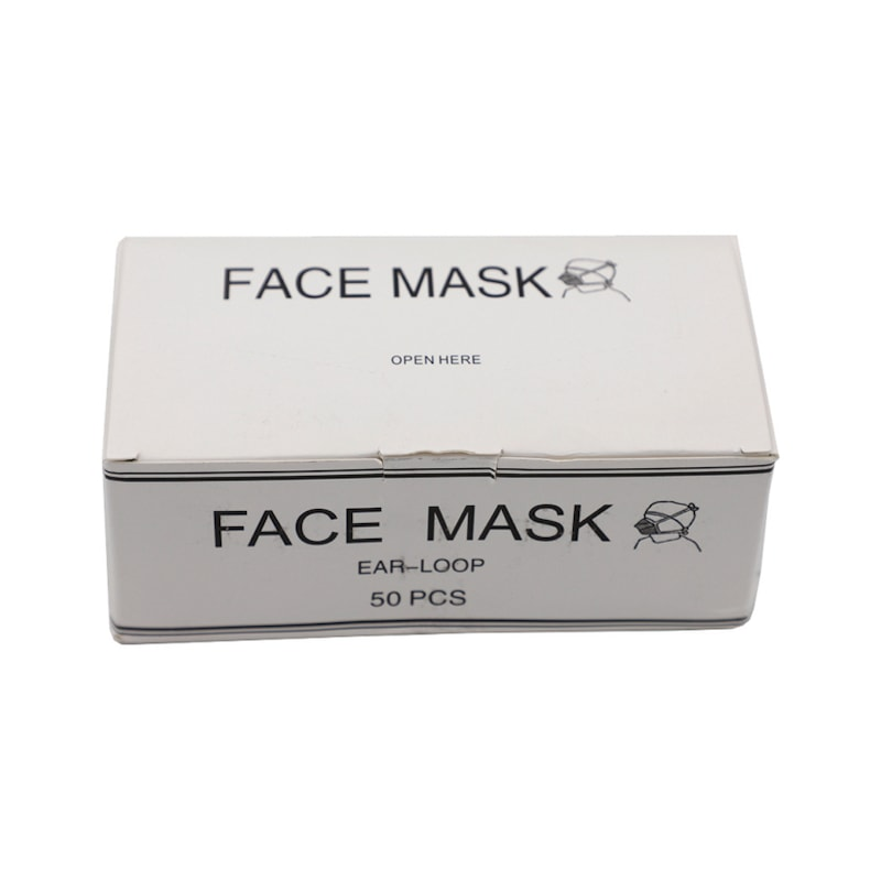 Simple nose/mouth protection, EN 14683:2005, class 1 - Simple nose and mouth protection