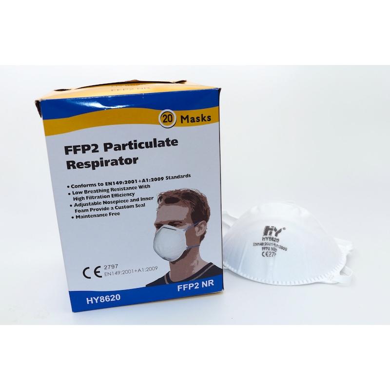 Feinstaubfiltermaske FFP 2 Box 20 Stück - Partikelfiltrierende Halbmaske |OUTLET