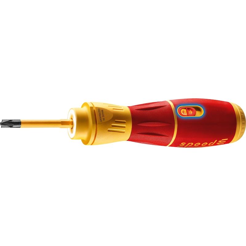 WIHA E-Schraubendreher speedE II electric, 7-teilig - E-Schraubendreher Set speedE II electric |AKTION