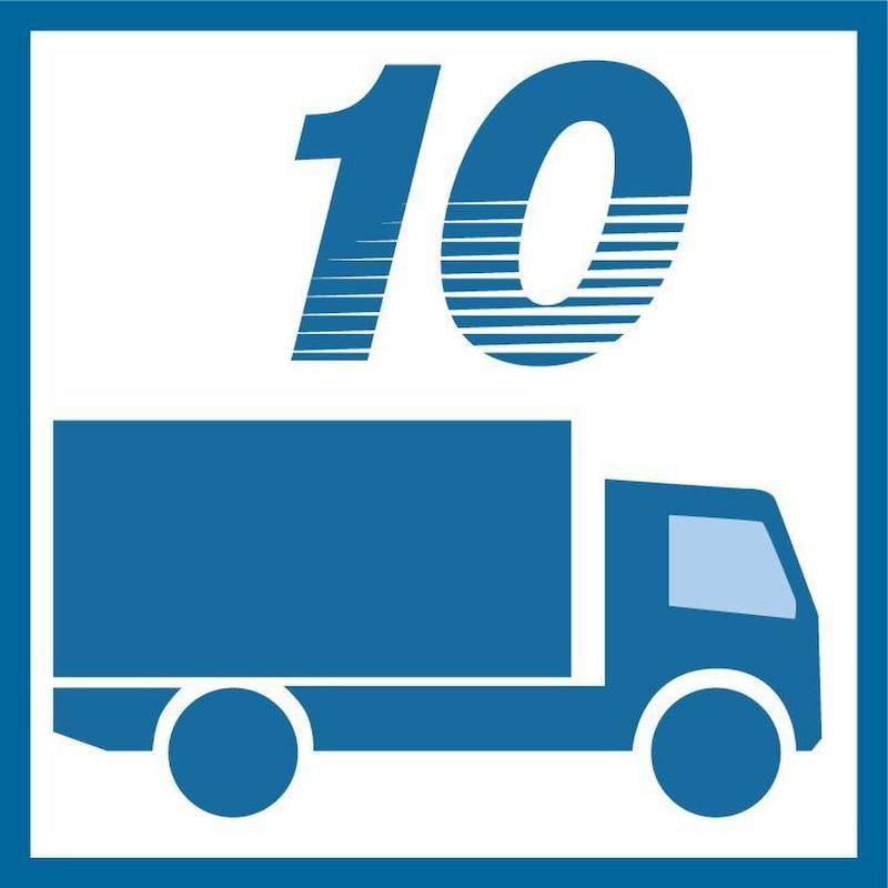 Säulenschwenkkran Unilift 125 kg/3895 mm VAS2 Befestigungsystem und E-Kettenzug - Säulenschwenkkran UNILIFT (US) mit Aluminiumausleger und Kettenzug