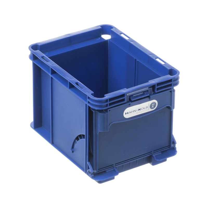 W-KLT® storage boxes with front flap