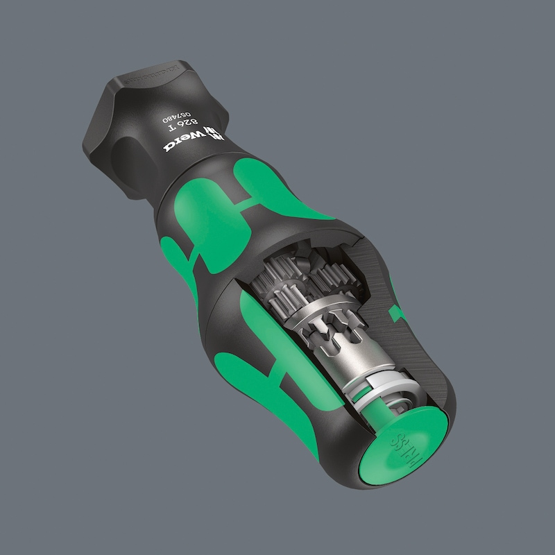 WERA Kraftform Kompakt Turbo 1, Satz 19-teilig - Kraftform Turbo Bits-Handhalter mit Rapidaptor Schnellwechselfutter  AKTION