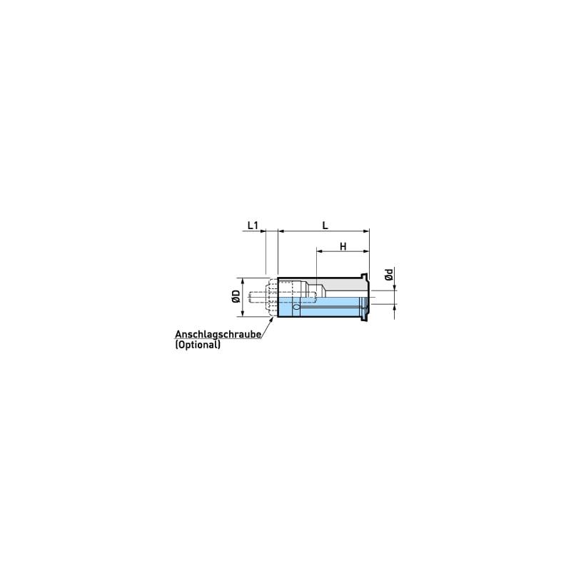 962.289 BIG KAISER, Reduzierhülse C32-25 - Spezial-Werkzeughalter, Spannzeuge