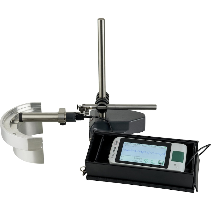 MAHR MarSurf PS10 roughn. meas. device, skid-type probe sys for PHT probe range - MarSurf PS 10 roughness measuring device