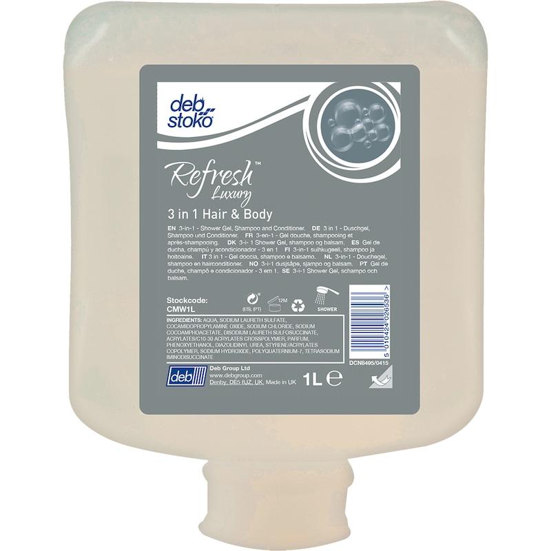 SC JOHNSON PROFESSIONAL Refresh™ Luxury 3-in-1 Hair & Body, 1 Liter Kartusche - Refresh™ Luxury 3-in-1 Hair & Body |AKTION