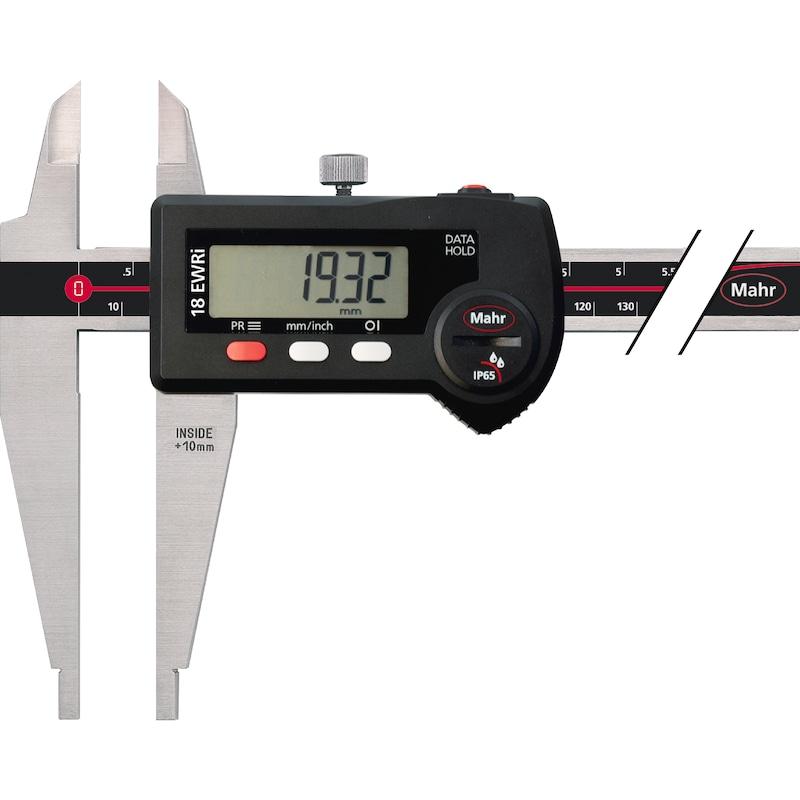 MAHR 18 EWRi Digital-Messschieber 500 mm/20 inch mit Schneide - Elektronischer Werkstatt-Messschieber |AKTION