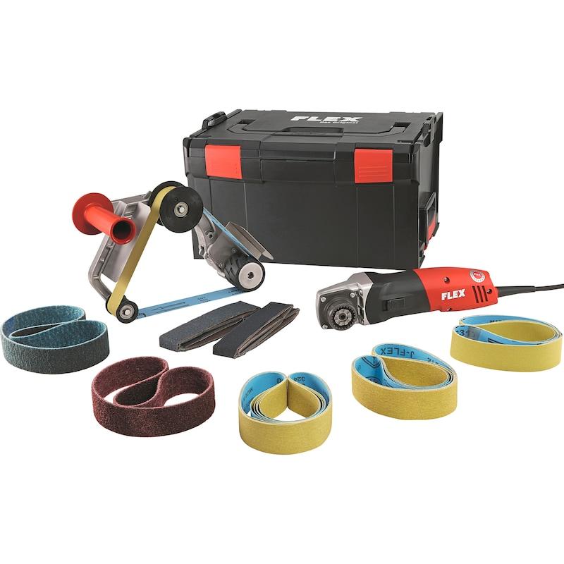 FLEX BRE 14-3 125 pipe belt sander set 70565011 | HAHN+KOLB