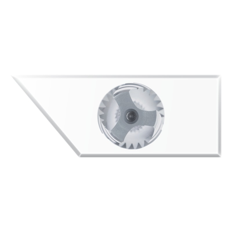 ATORN menetfúró, HSSE V3 gőzk., C 40° M 6 1 ISO2 4D<3xD CNC;kiv. UNI - gépi menetfúró, HSSE V3