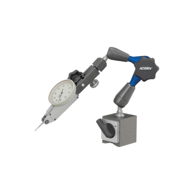 ATORN 3D csuklós mérőállvány, 210mm magas (működési sugár 130mm) - 3D csuklós mérőállvány