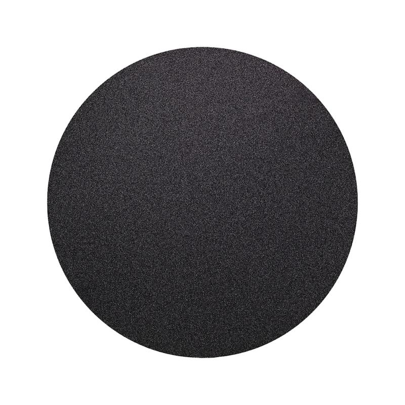 Pap abras AKASEL RHACO GRIT ss ergot extract 200mm, carbure silicium SIC, P500 - Papier abrasif RHACO GRIT sans ergot d'extraction