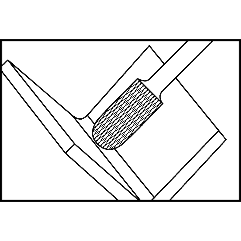 ATORN VHM turbómaró, 3 mm, WRC 0313 fogazás 6 ATORN r. sz.: 11310138 - Tömör keményfém turbómaró