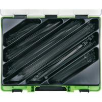 VISO Sortiment Kabelbänder schwarz