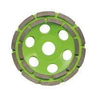 diamop diamond grinding cup, two-row for concrete (RS10B) and abrasive materials (RS10A) BASIC