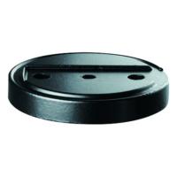 FSB bottom plate for floor-level door stop
