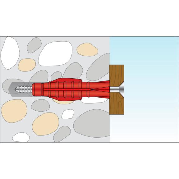 Allzweckdübel ohne Kragen - 2