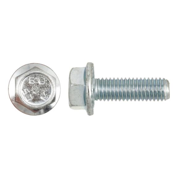10 Stück Schraube DIN 6921 M8x16 10.9 verzinkt