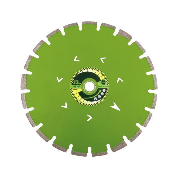 diaflex Asphalt SPEZIAL RS10A 300-600mm - diaflex Diamanttrennscheibe RS10A für Asphalt SPEZIAL, Einzelpaket 350 / 25,4