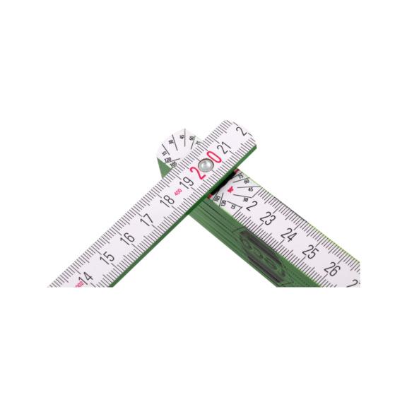 RECA wooden folding rule - RECA wooden folding rule 2 m