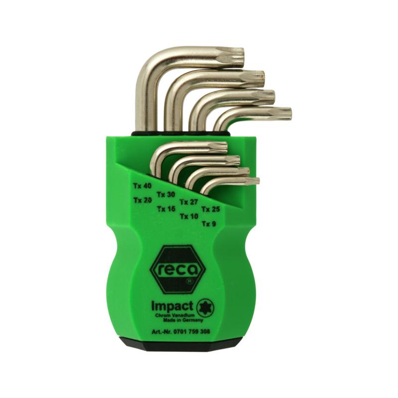 RECA Stiftschlüssel-Satz 8-teilig - TX