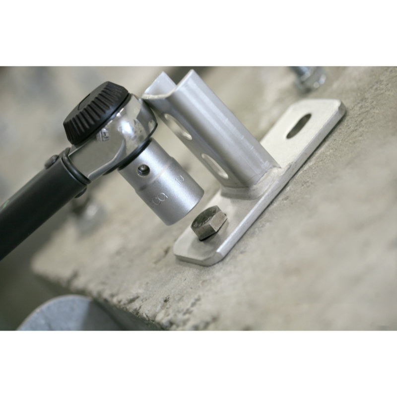RECA torque wrench with rotary knob and reversible ratchet head - 6