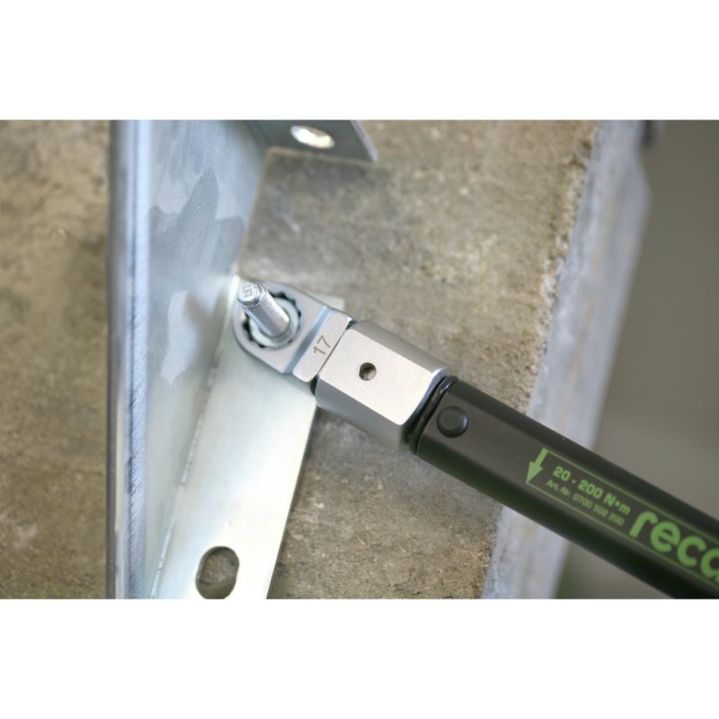RECA torque wrench with push-fit tool mount - 7