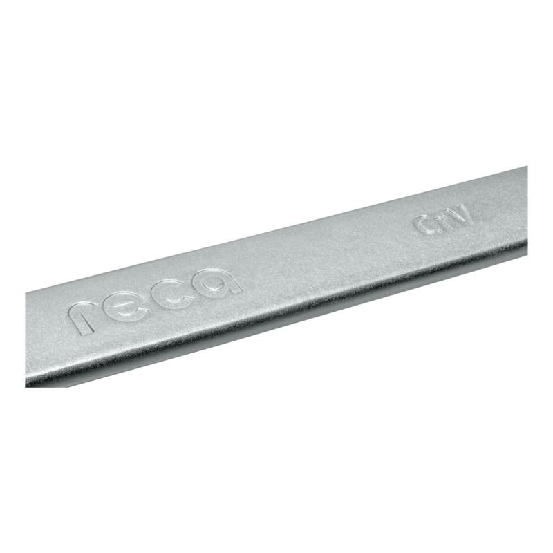 RECA combination wrench, angled - 4
