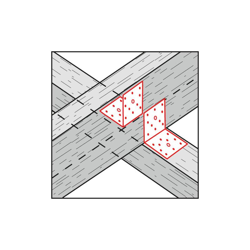 Winkelverbinder ohne Steg - 2
