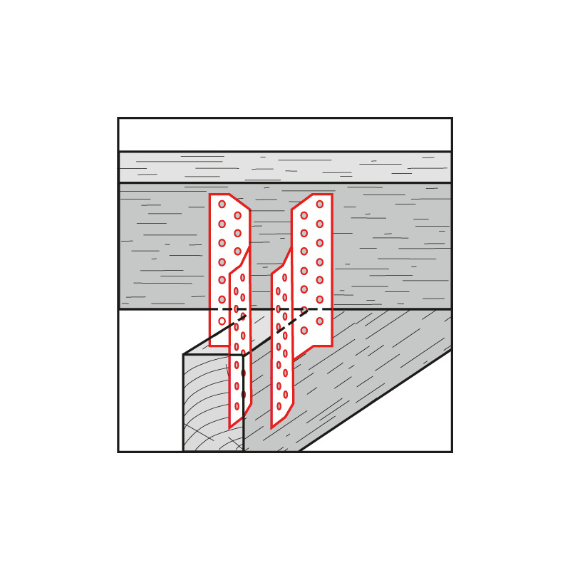 Sparrenpfettenanker  - 2