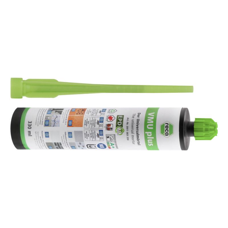 VMU plus chemical injection mortar - 1