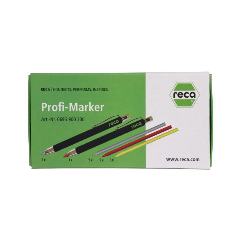 Profi-Marker-Set - RECA Profi-Marker Set