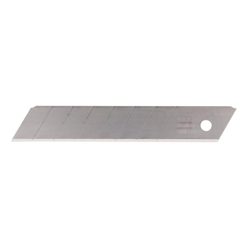 RECA INOX spare blade - RECA INOX replacement blades (10 pieces), 18 mm